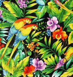Estampas Tropicais: A Cara do Verão   Salada de Moda