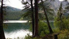 Grand Teton Nationalpark - Backcountry Zeltplatz Blick auf den Phelps Lake
