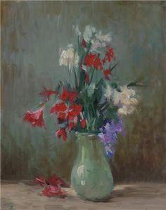 Flowers by Turkish Painter Ayhan Türker