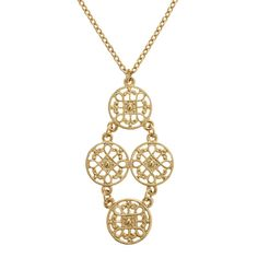 KAI Chandelier Necklace - Gold