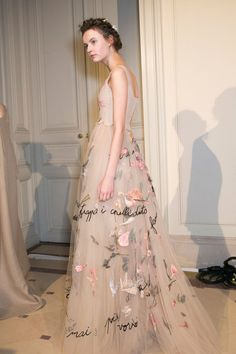 Valentino at Couture Spring 2015 (Backstage)