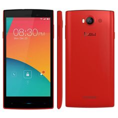 iNew V1 5.0 Inch MTK6582 Smartphone Android 4.4 8GB ROM 1GB RAM 3G GPS Sony Camera Red - iNew Mobile