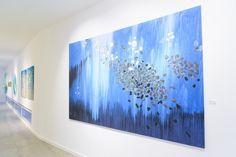 """Exposición: Caos Sensible Artista: Limber Vilorio Título: """"Viaje Interior"""" Tamaño: 109"""" X 68"""" Tecnica: Mixta"""