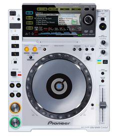 Pioneer / CDJ-2000-W - This is hot!