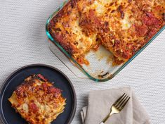 Food Network Kitchen's 100+ Best Recipes | Recipes, Dinners and Easy Meal Ideas | Food Network Parmesan Rind, Parmesan Pasta, Best Lasagna Recipe, Cheese Lasagna, Potato Lasagna, Lasagna Food, Lasagna Pan, No Noodle Lasagna, Pasta Recipes