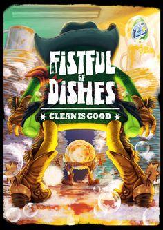todo-brillo-lavavajillas-clean-is-good-print-387635-adeevee.jpg (1600×2262)