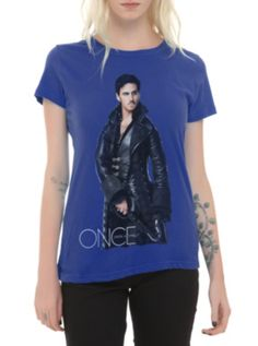 a0ca871a5e Once Upon A Time Hook Girls T-Shirt Look at what I found! Hook