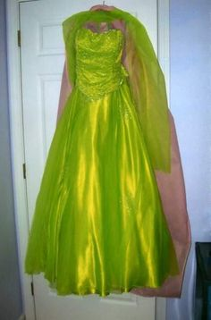 lime green prom dresses images