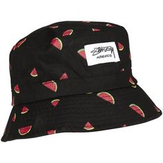 stussy bucket hat ❤ liked on Polyvore featuring accessories, hats, stussy hat, stussy, bucket hat, fishing hat and fisherman hat