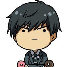 ♡ On Pinterest @ kitkatlovekesha ♡ ♡ Pin: Chibi Anime ~ Tokyo Ghoul ~ Amon Koutarou ♡