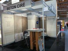 """Eindrücke Béton Ciré Stand auf der Messe 'Bauen und Wohnen"""" in Salzburg. 5.2.-8.2.2015, Halle 6 Stand 226 Salzburg, Halle, Divider, Room, Furniture, Home Decor, Homes, Ideas, Bedroom"""