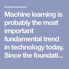 Does AI make strong tech companies stronger? Machine Learning, Tech Companies, Foundation, Strong, Technology, How To Make, Tech, Tecnologia, Foundation Series