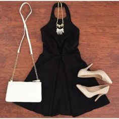Little Black Dress for date night! | Charlotte Russe | The Promenade Bolingbrook