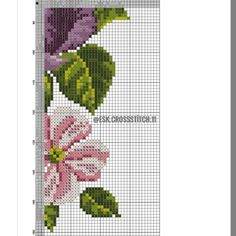 Diy And Crafts, Cross Stitch, Table Toppers, Drive Way, Roses, Dots, Punto De Cruz, Seed Stitch, Cross Stitches