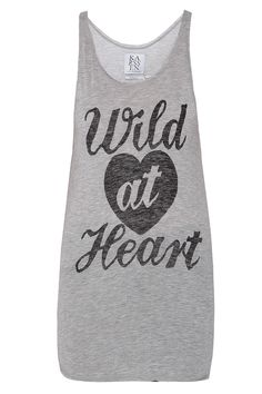 Wild At Heart Tank Top By ZOE KARSSEN @ http://www.boutique1.com/