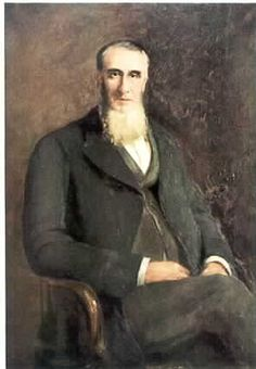 Robert Glover Benson, Councillar & Banker, Victoria, Aust. Born 1823, Woodhouse Hall, Yorkshire, died 1894, Vic, Aust. Son of William Benson & Hannah Glover, Idle, Leeds, England.