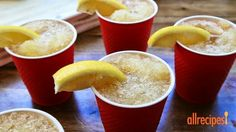 Whiskey lemonade slush