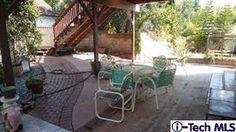 Back yard patio...not so inviting!