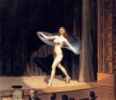 Edward Hopper, Girlie Show, New York, 1941