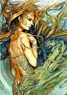 Mermaid by Ed Org by Ирина Дубровская