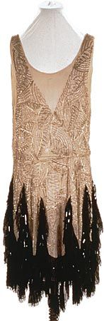 A and L Tirocchi flapper evening gown, 1920s | More on the myLusciousLife blog: www.mylusciouslife.com