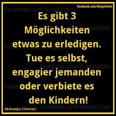 3 Möglichkeiten