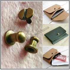 5set-Beetle Dot Lock Vintage-style for handmade purse bag box wallet closure (color antique brass) (purse metal frame)