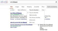 Effectuer des recherches Google uniquement sur des pages jamais visitées