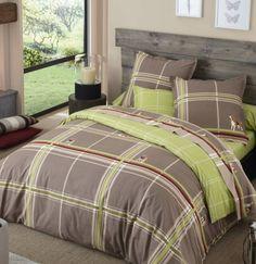 Prêt pour une Escapade Nature ? Linge de lit imprimé motif beagle #beagle #lingedelit #deconature #chambre