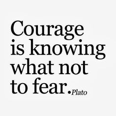 Courage is Knowing What Not To Fear. -Plato #inspirationalmonday #gqbarberlounge