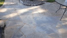 This flagstone patio installation may look overwhelming, if you go step by step you can do this too. Start now and enjoy your new patio this season.