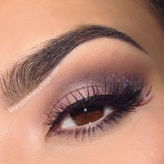 Products Used: Urban Decay Naked 3 Palette Dust -- worn on the lid and inner corner Buzz -- outer lid Blackheart -- crease and lower lash li...