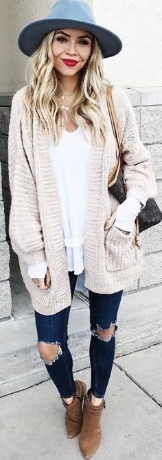 45 Fascinating Fall Outfits You Need ASAP / 36 - Priscilla Afonso - Winter Mode Outfits, Winter Fashion Outfits, Autumn Winter Fashion, Spring Outfits, Casual Outfits, Cute Outfits, Mode Emo, Winter Stil, Nyc