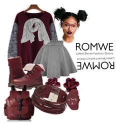 """""""Loose res sweatshirt with romwe.com"""" by your-febuary-zaby ❤ liked on Polyvore featuring Mode, Timberland, Ray-Ban, Topshop, Puma und Kenneth Cole Reaction"""
