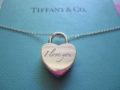 Tiffany Style Heart Necklace In Multicolor. $15.53