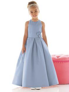 Flower Girl Dress FL4022 http://www.dessy.com/dresses/flowergirl/fl4022/?color=cloudy&colorid=106#.UxI9yUtX_Ww
