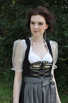 """The Pit and The Pendulum"" Dirndl 