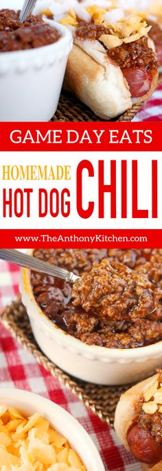 Easy Homemade Hot Dog Chili Recipe A quickfix hot dog sauce recipe featuring ground beef ketchup and the perfect mix of spices Its an upgrade to canned chili and a recip. Chilli Recipes, Sauce Recipes, Beef Recipes, Cooking Recipes, Recipies, Quick Recipes, Family Recipes, Amazing Recipes, Popular Recipes