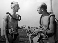 1959 National Geographic Mystery Man Identified in a 1976 Luis Marden Rolex Ad Jacques Yves Cousteau, National Geographic, Welcome, Underwater, Rolex, Surfing, Mystery, Personality, Magazine