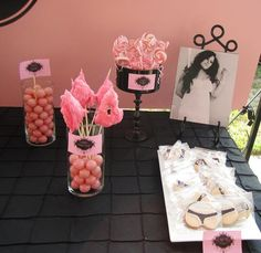 lingerie bridal shower! love the cookies :)