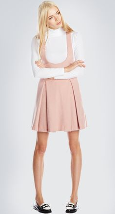ALMITRA DRESS- Pastel pink leads the way in this beautiful dress. It's never too late to think pink.