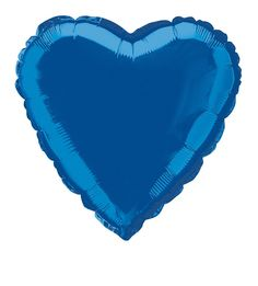 Show your love for your country this Independence Day with this Blue Heart Shaped Foil Balloon. 18""