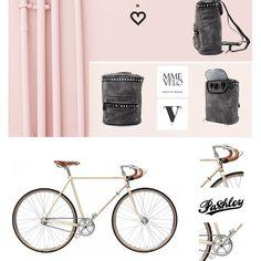 Madame Velo + Pashley Bicycle, Mood, Bags, Bike, Bicycle Kick, Bicycles