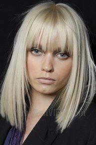 Oogverblindende blonde kapsels voor dames met halflang haar - Kapsels voor haar