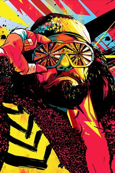 Classic old school wrestlers re-imagined by ilovedust