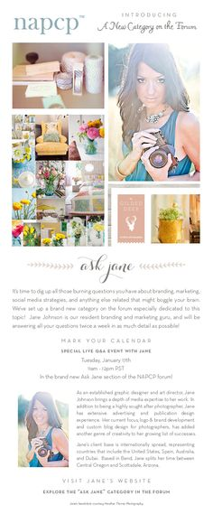 Blog design idea - I love the leave design and the layout
