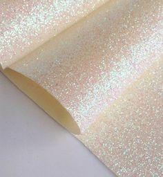 Tissu paillette blanc