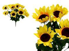 Ya Ya 70 Silk Sunflowers