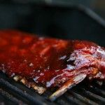 BBQ Ribs on the Grill by EclecticRecipes.com #recipe