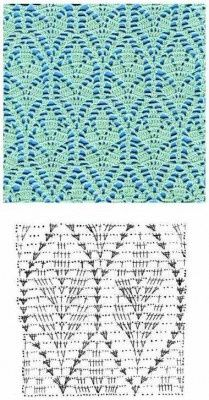 Crochet Stitches Graph : crochet stitch chart crochet stitch chart crochet pattern stitches